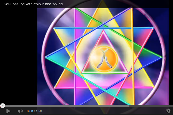 Soul healing with colour and sound