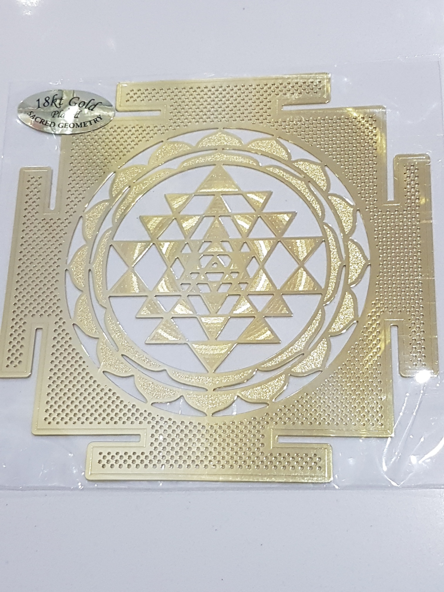 Shree Yantra - Sacred Geometry Healing Grid